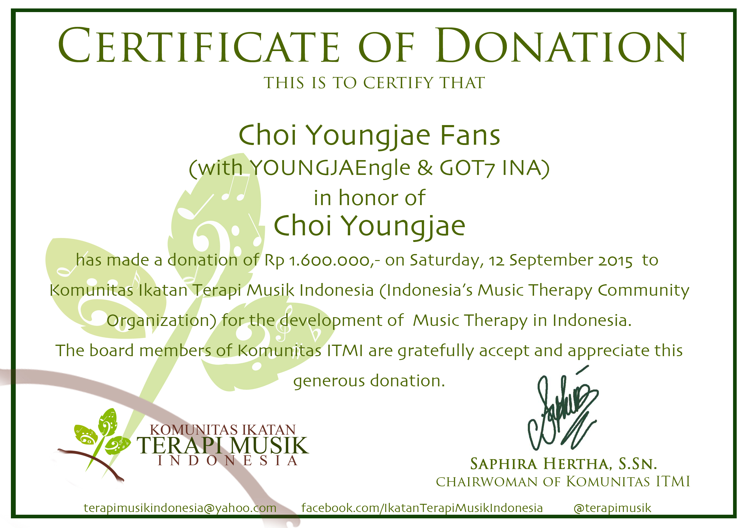 project report a gift for gifted boy choi youngjae youngjae s